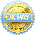 Verify OKPAY user information.